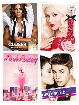 Fifi Awards - Halle Berry - Christina Aguilera - Justin Bieber - Nicki Minaj