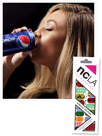 Beyonce Nails Pepsi Commercial