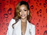 Rihanna White Blazer