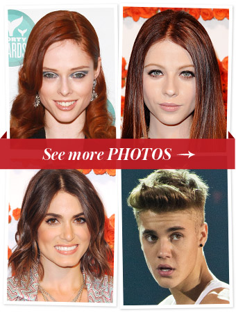 New Hair - Coco Rocha - Justin Bieber