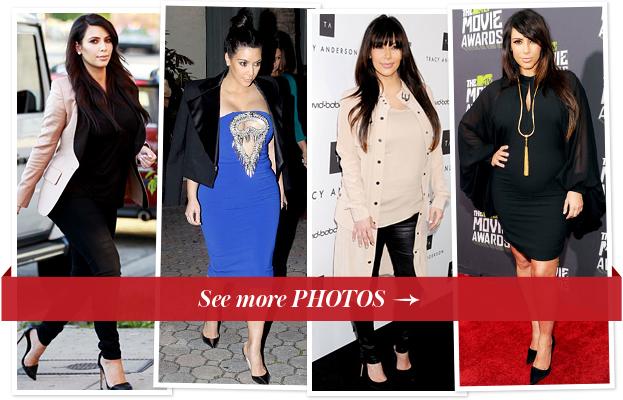 Kim Kardashian Maternity
