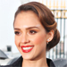 Mother's Day Gift Inspiration: Jessica Alba's Engraved Initial Necklace