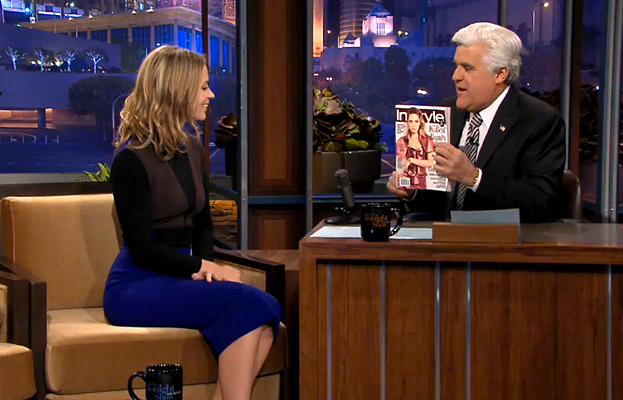 Emily Blunt, Jay Leno