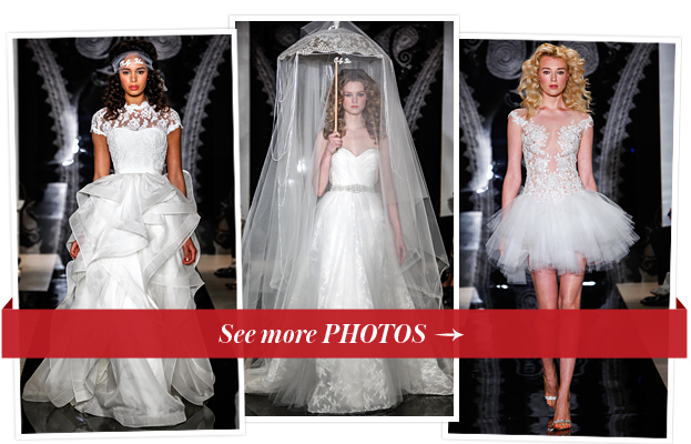 Reem Acra, Bridal Fashion Week