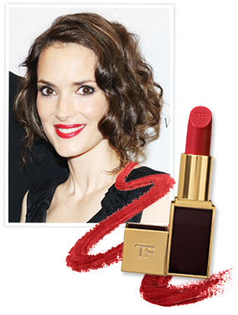 Winona Ryder Lipstick