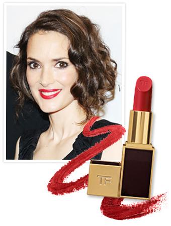 Winona Ryder Lipstick