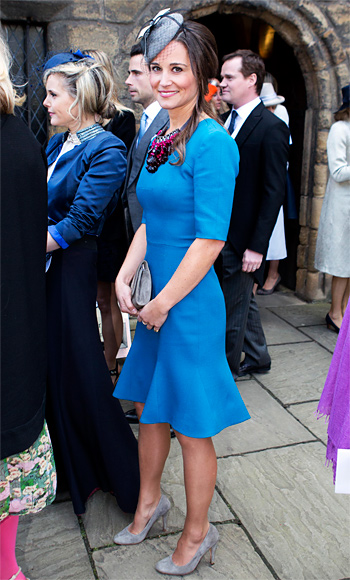 Pippa Middleton in Matthew Williamson