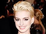 Anne Hathaway Blonde Hair