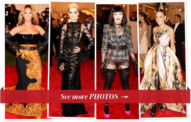 Met Gala 2013 Fashion Photos
