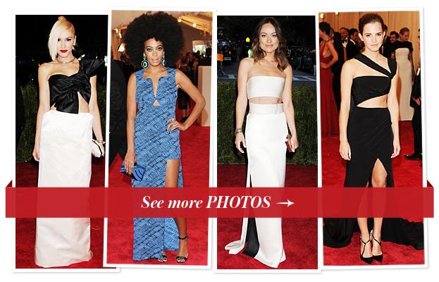 Gwen Stefani, Solange Knowles, Olivia Wilde, Emma Watson