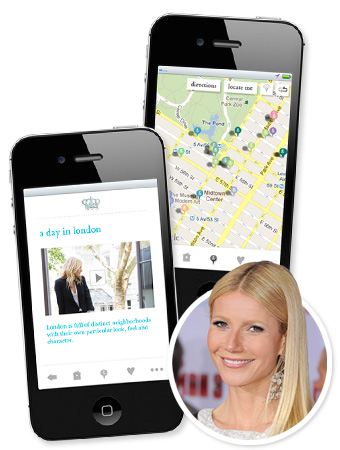 Gwyneth Paltrow Goop App