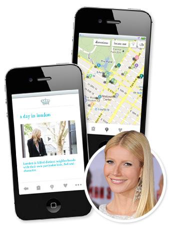 Gwyneth Paltrow Goop App