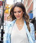 Found It! Jessica Alba's White-Hot Sandals
