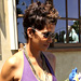 Pretty in Purple: Halle Berry's Relaxed, Mother's Day Maternity Style