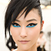 Chanel's New Look: Electric Blue Makeup