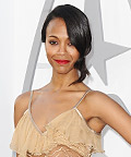 See Zoe Saldana's <em>Star Trek Into Darkness</em> Fashion Show