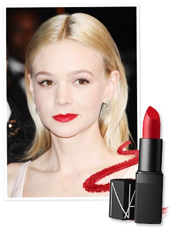 Carey Mulligan Lipstick - Cannes Film Festival