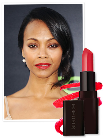 Zoe Saldana Lipstick