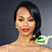 Found It! Zoe Saldana's True Crimson Lipstick