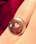 Instagram Photo We Love: David Yurman's Rose Gold Pinky Ring