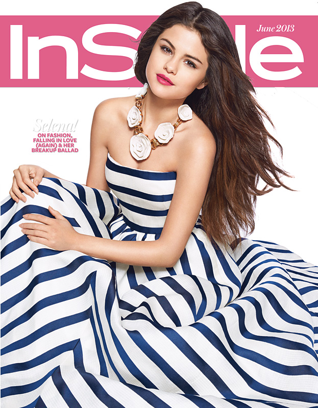 InStyle June Subscriber Cover Selena Gomez