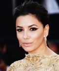 Found It! Eva Longoria's Graphic Eyeliner