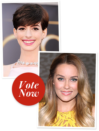 Anne Hathaway, Lauren Conrad