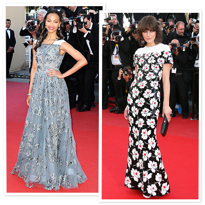 Cannes Fashion: Stars Who Sizzled on the Red Carpet
