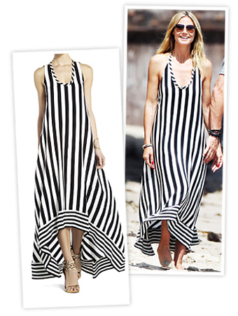 Heidi Klum Striped Dress
