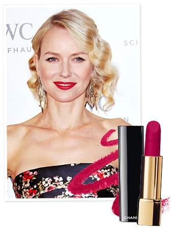 Naomi Watts - Cannes - Lipstick