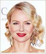 Found It! Naomi Watts' Pretty Raspberry Lipstick
