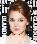 Found It! Dianna Agron's Teal Eye Shadow