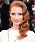 Jessica Chastain Wears Elizabeth Taylor&#8217;s 52.72 Carat Sapphire Necklace