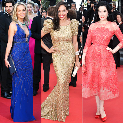 See All the Glamorous Gowns at Cannes!