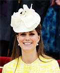 Kate Middleton Looks Sunny in Yellow Emilia Wickstead