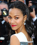 Found It! Zoe Saldana's Scarlet Lipstick at the Cannes Film Festival
