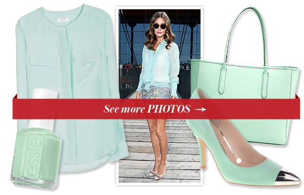 Mint Items Inspired by Olivia Palermo