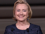 Hillary Clinton at 2013 CFDA Awards