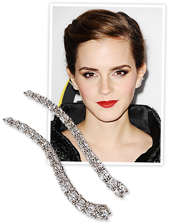 Emma Watson and Graziela Earrings