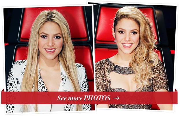 Shakira, The Voice