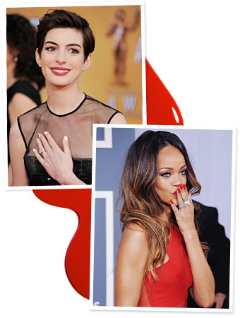 Nail Art Festival - Celebrity Manicures