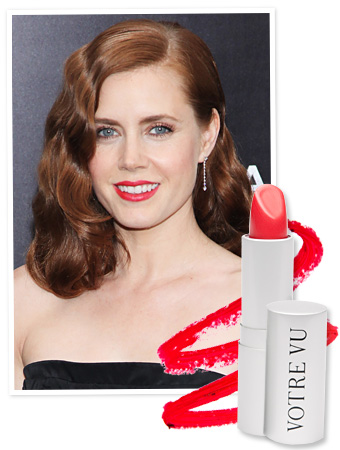 Amy Adams Lipstick - Man of Steel Premiere