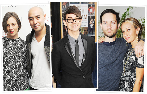 Suno, Christian Siriano, Jennifer Meyer and Tobey Maguire
