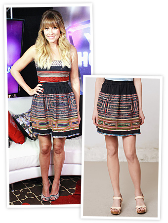 Lauren Conrad and Sachin + Babi Skirt