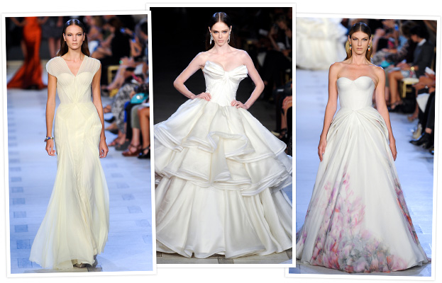 Zac Posen Bridal Looks