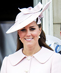 Kate Middleton: Pretty in Pink Alexander McQueen