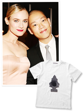 Diane Kruger and Jason Wu at ACRIA