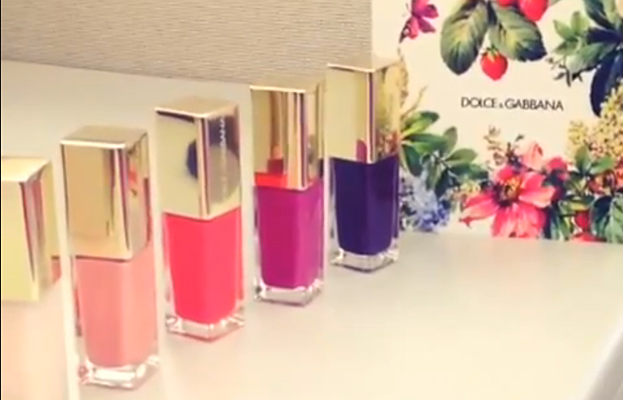 Instagram Video Dolce & Gabbana Nail Polish