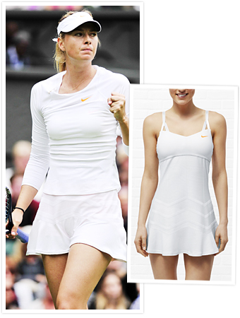 Maria Sharapova and Nike Flounce Dress