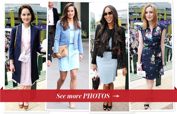 Michelle Dockery, Pippa Middleton, Naomi Campbell, Laura Carmichael